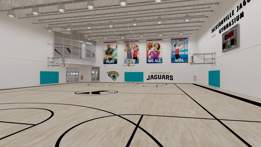 The Jaguars Foundation Names Gymnasium In New Riverside