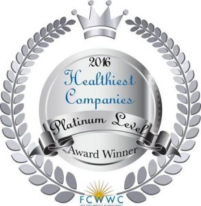 Healthiest Companies Seal 2016