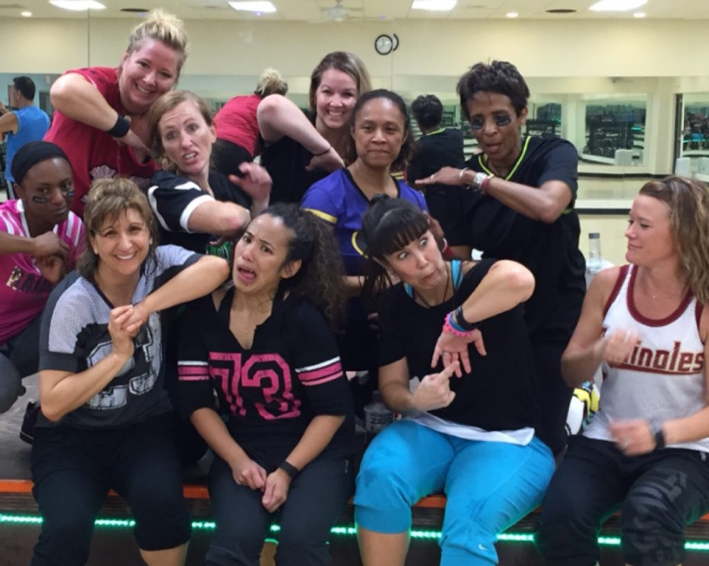 Group Exercise fun at the Brooks Family YMCA